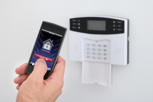 sécurité connecté alarme